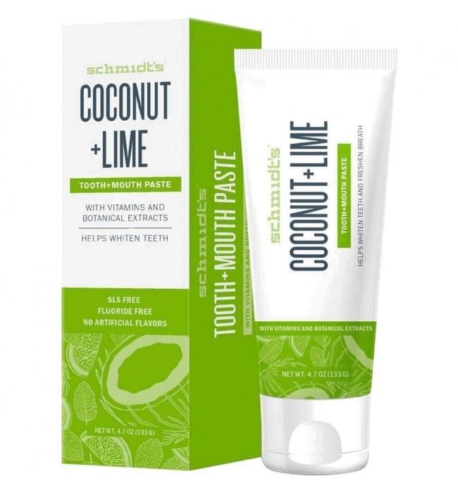 Натурална паста за зъби Кокос + Лайм